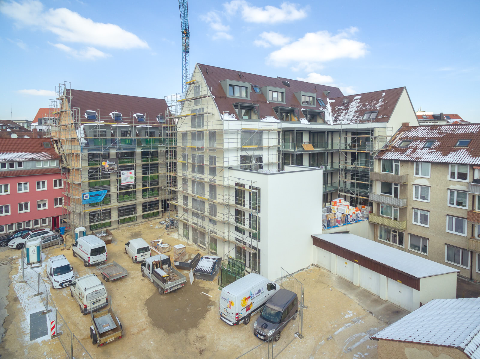 Bauunternehmen Ulm wohn geschäftshaus ulm blautal bauunternehmen gmbh